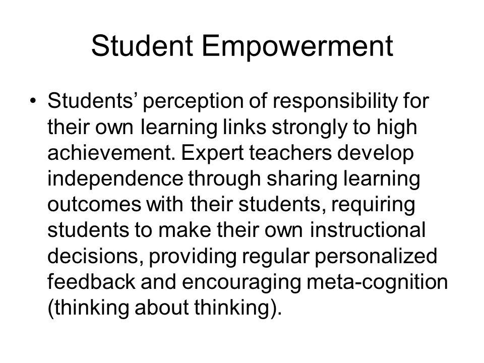 Student Empowerment