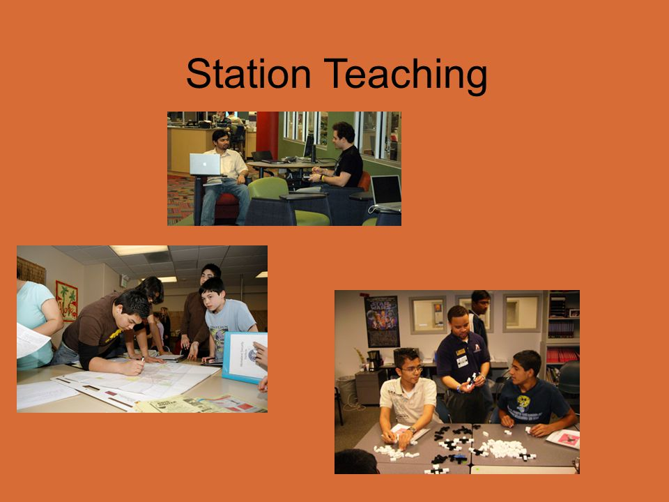 Station Teaching Classroom is divided into various teaching stations