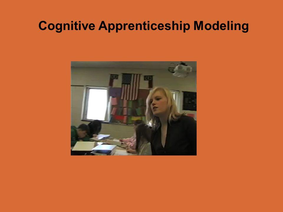 Cognitive Apprenticeship Modeling