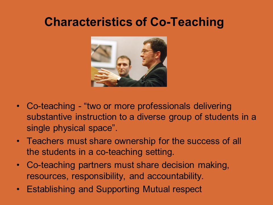 Characteristics of Co-Teaching