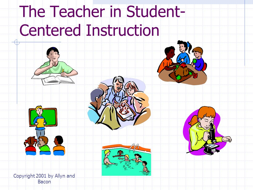 The Teacher in Student-Centered Instruction