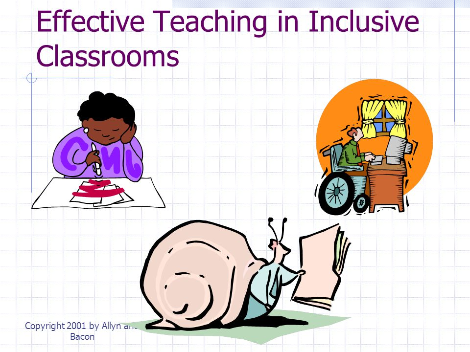 Effective Teaching in Inclusive Classrooms