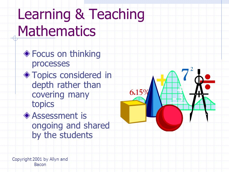 Learning & Teaching Mathematics