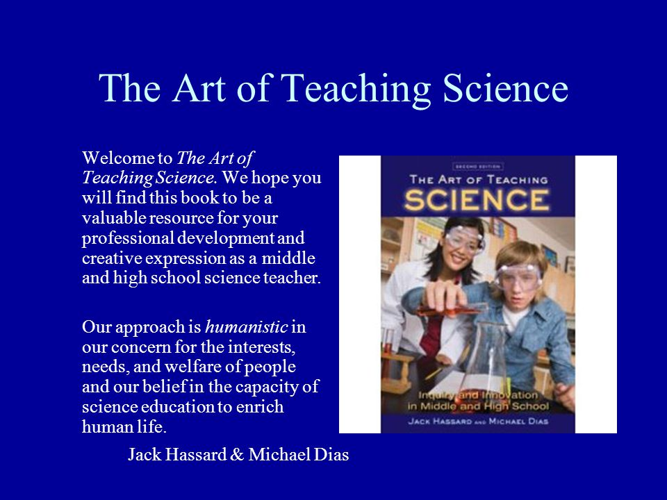 The Art of Teaching Science