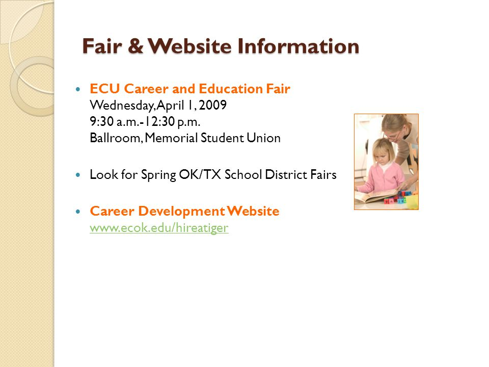 Fair & Website Information