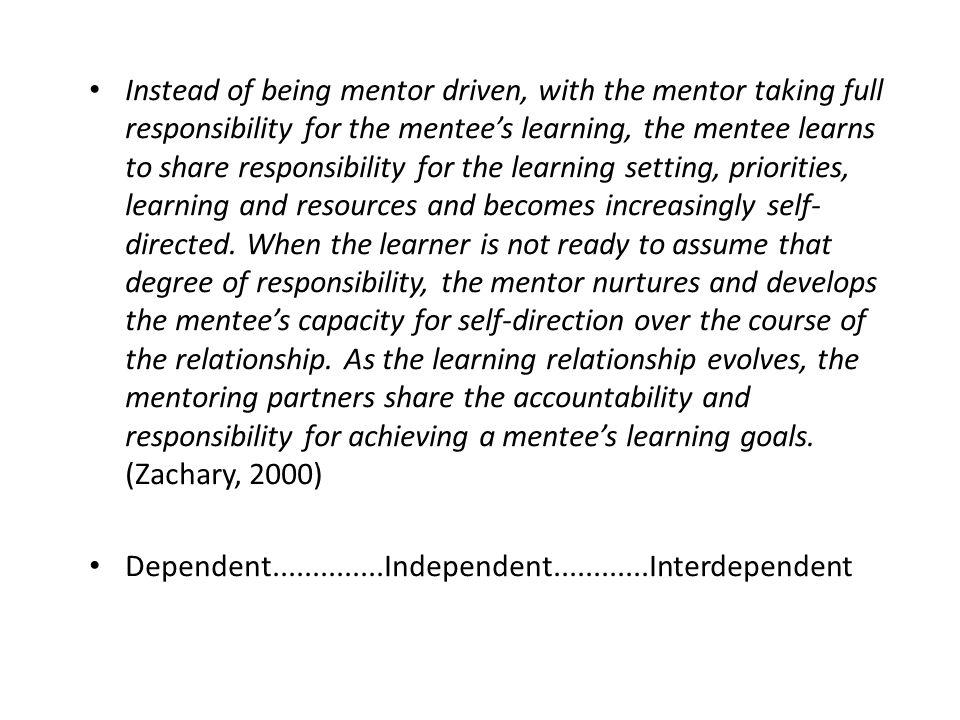 Dependent..............Independent............Interdependent