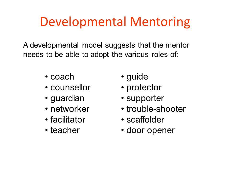 Developmental Mentoring