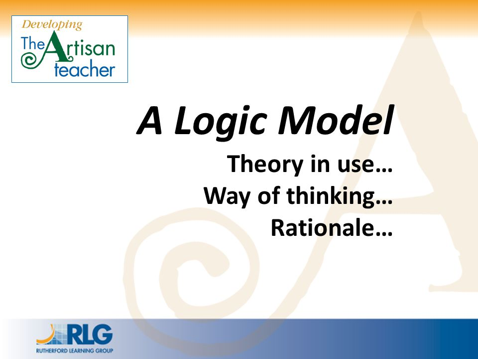 A Logic Model Theory in use…
