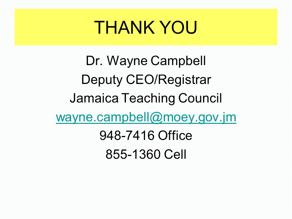 Jamaica Teaching Council