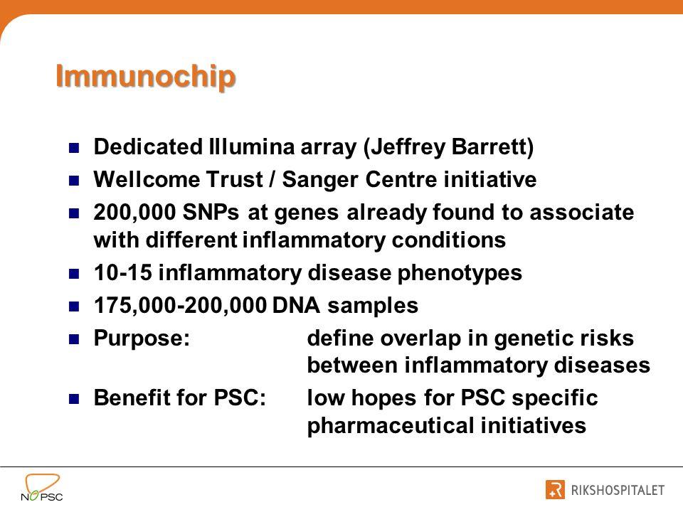 Immunochip Dedicated Illumina array (Jeffrey Barrett)