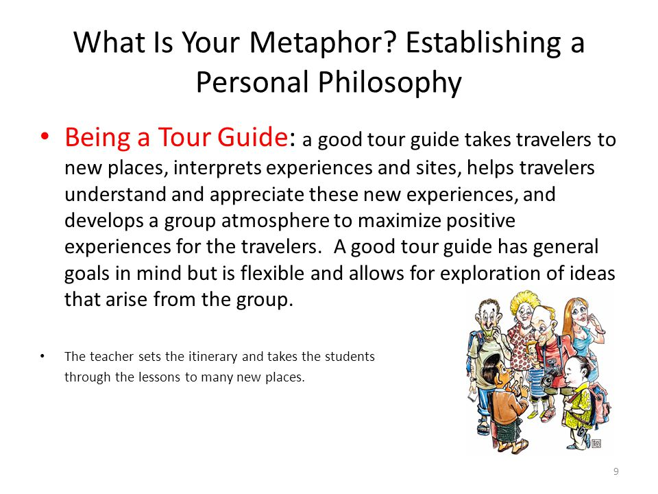 What Is Your Metaphor Establishing a Personal Philosophy