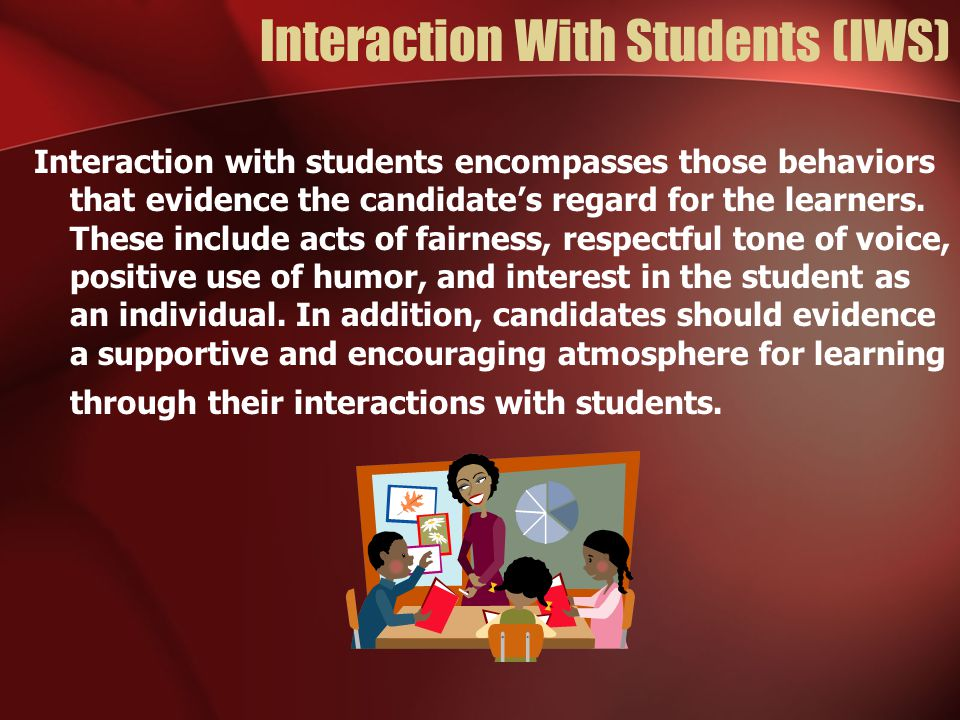 Interaction With Students (IWS)
