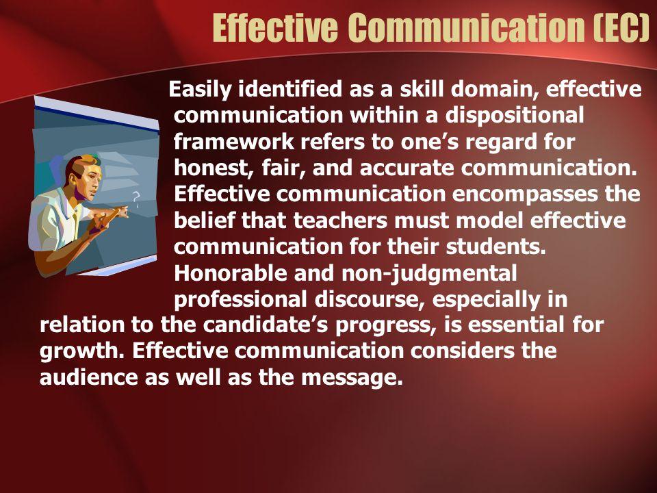 Effective Communication (EC)