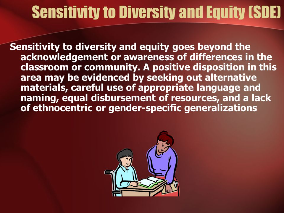 Sensitivity to Diversity and Equity (SDE)