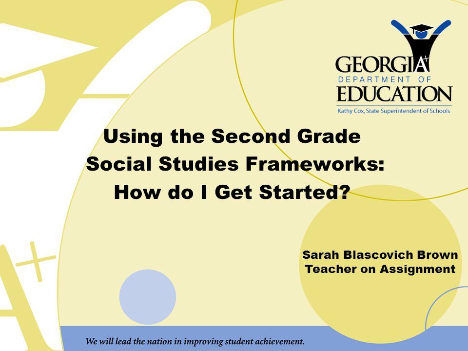Social Studies Frameworks:
