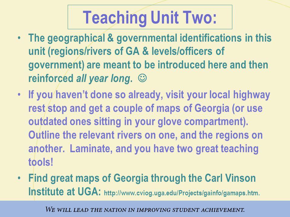 Teaching Unit Two: