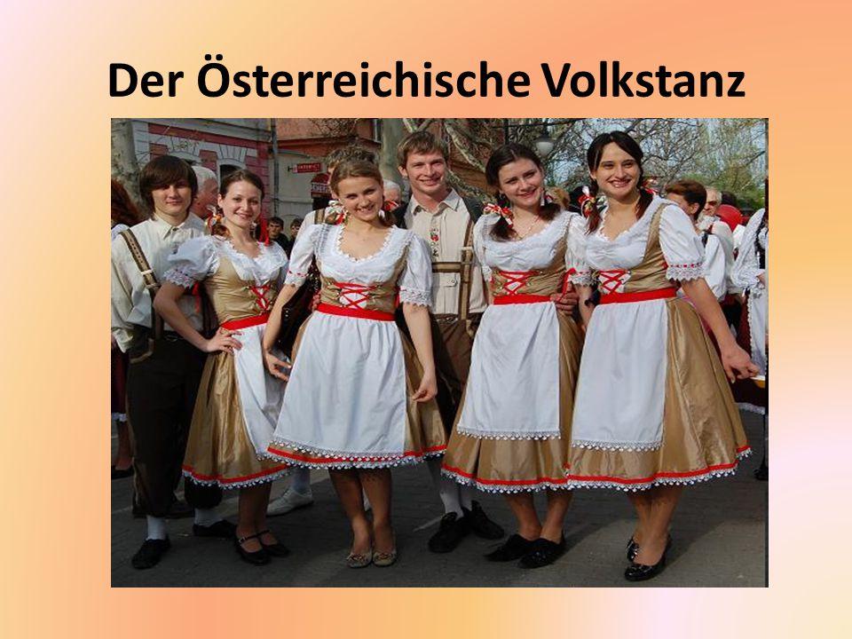Der Österreichische Volkstanz