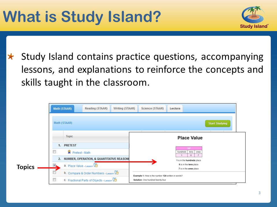 What is Study Island