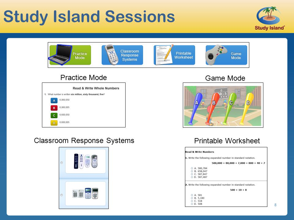 Study Island Sessions Practice Mode Game Mode
