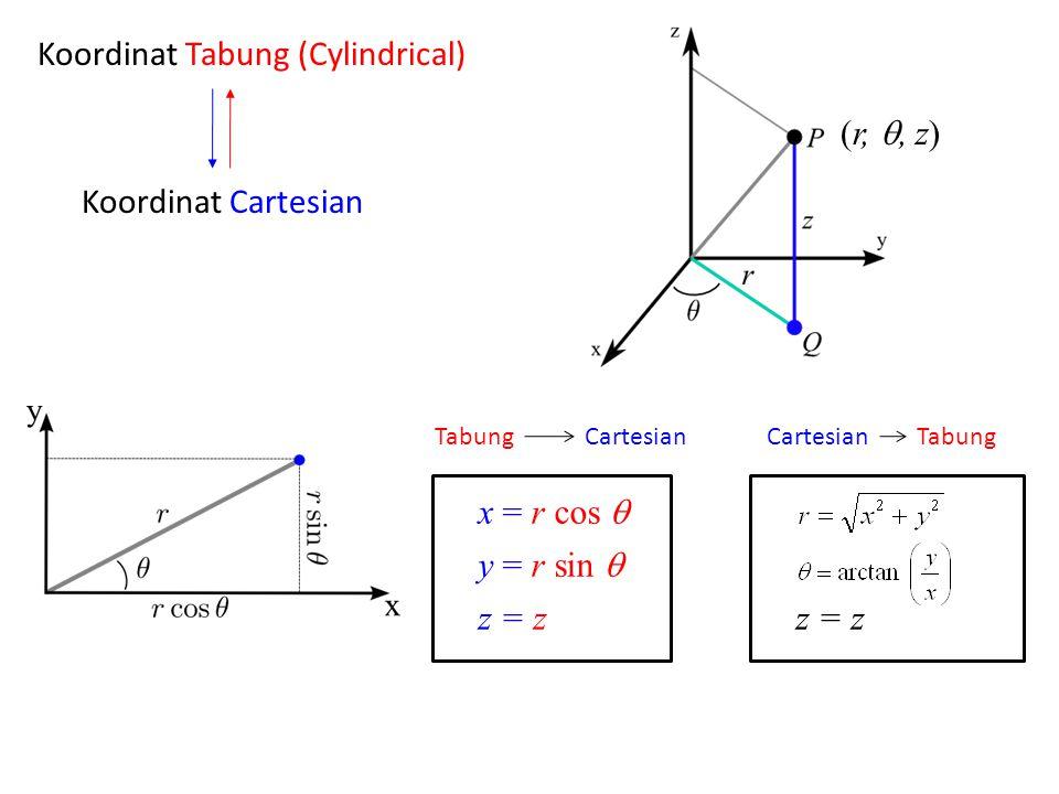 Koordinat Tabung (Cylindrical)