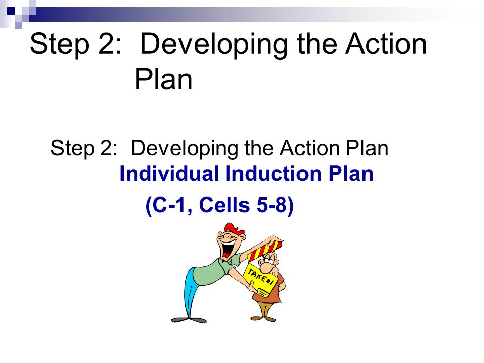 Step 2: Developing the Action Plan
