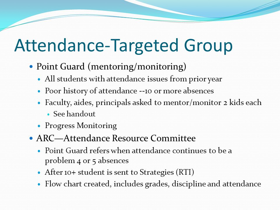 Attendance-Targeted Group
