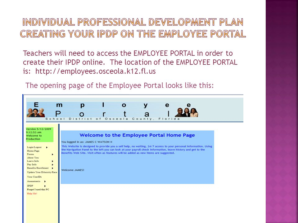 Individual Professional Development plan creating your ipdp on the employee portal