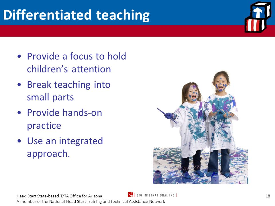 Differentiated teaching