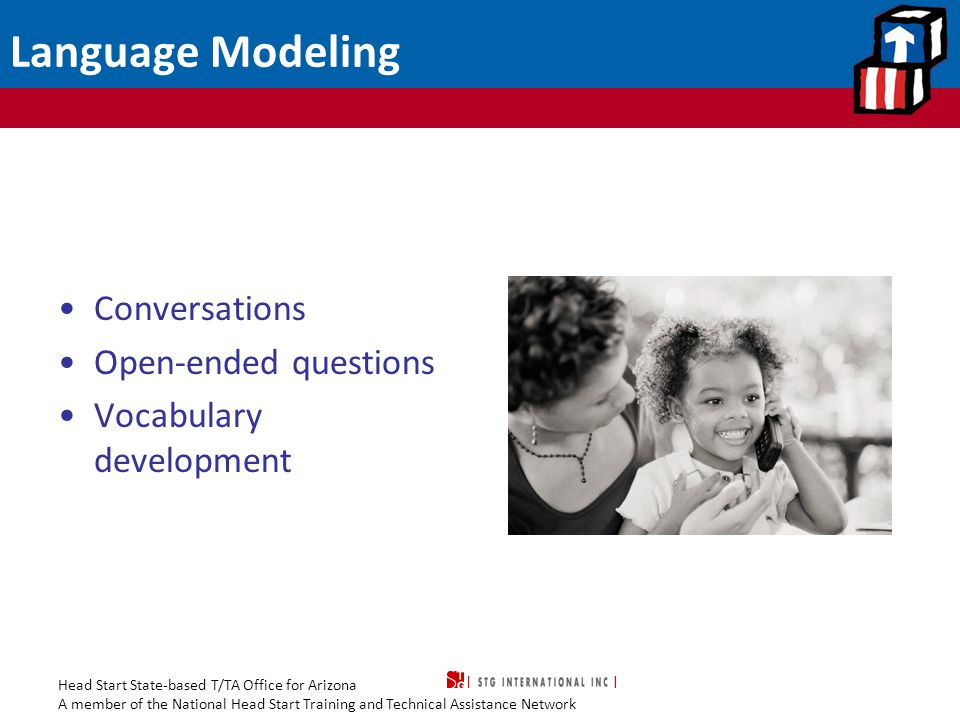 Language Modeling Conversations Open-ended questions