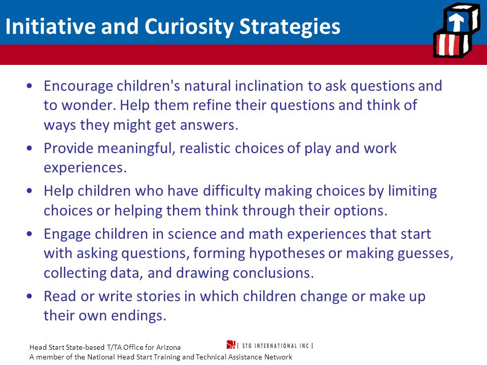 Initiative and Curiosity Strategies