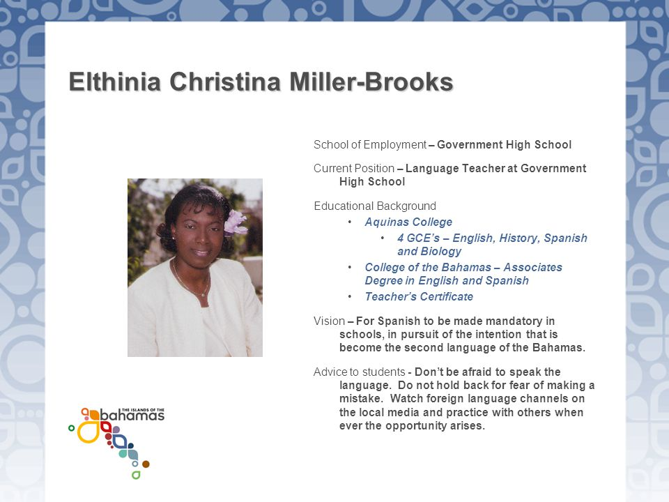 Elthinia Christina Miller-Brooks