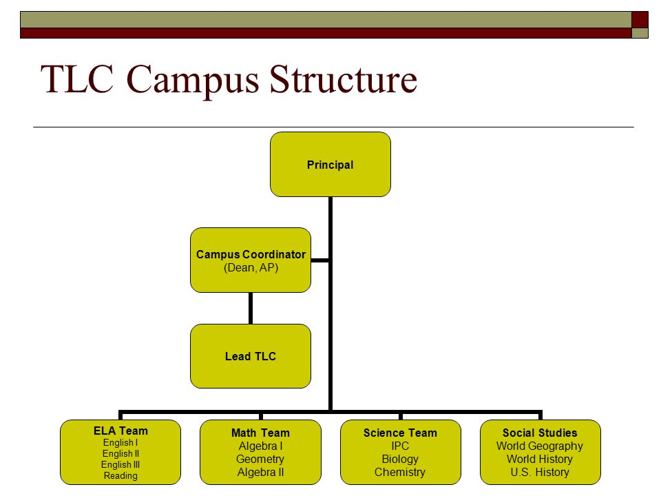 TLC Campus Structure