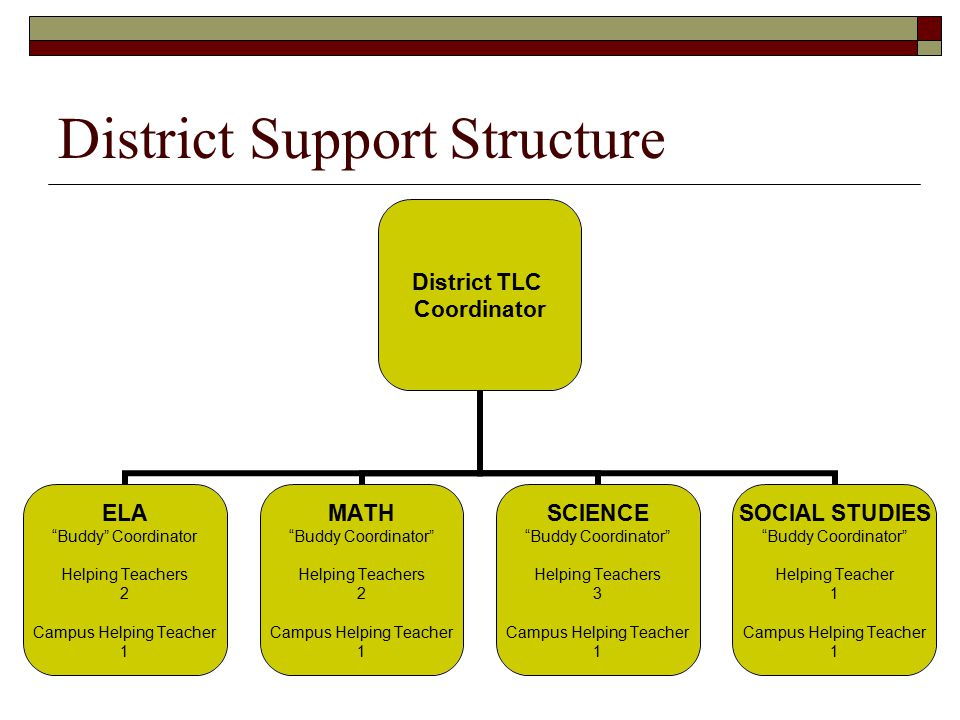 District Support Structure