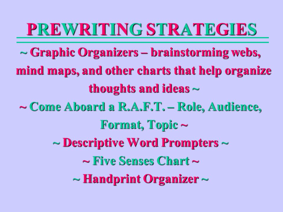 Snap Differentiated Instruction Strategies Raft Come Aboard Ppt