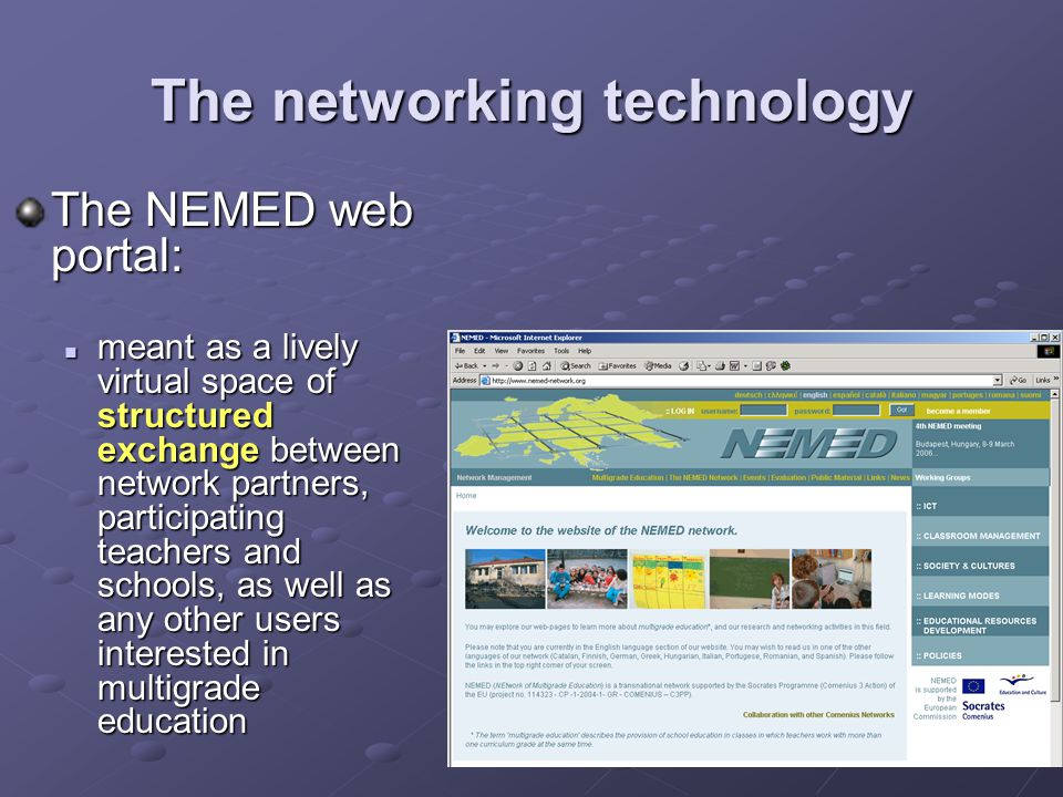 The networking technology