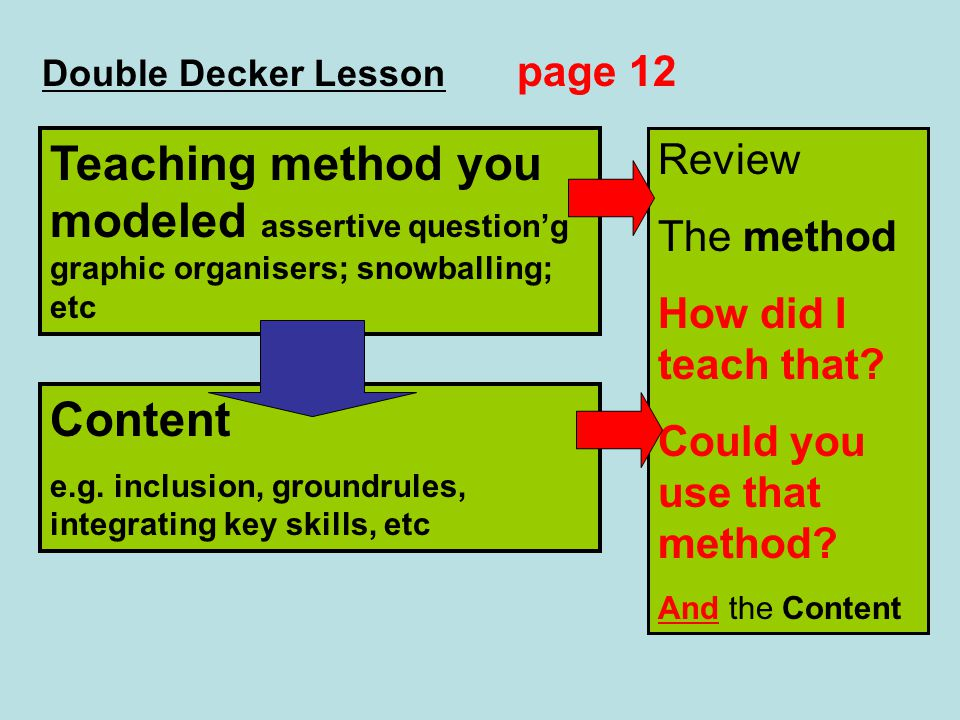 Double Decker Lesson page 12
