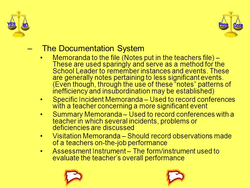 The Documentation System