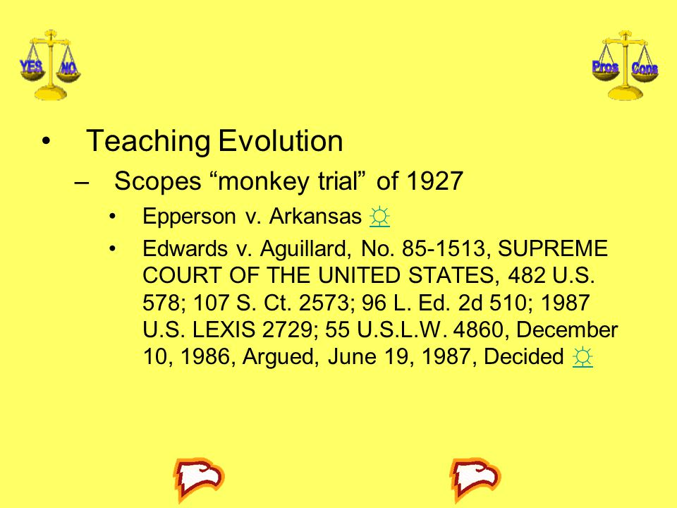 Teaching Evolution Scopes monkey trial of 1927