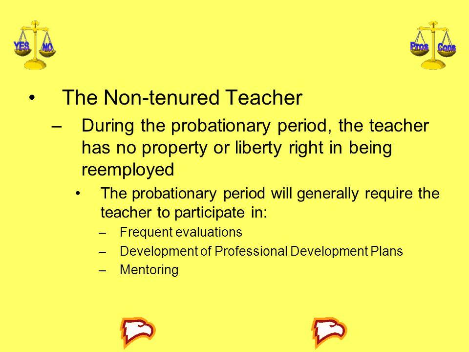 The Non-tenured Teacher