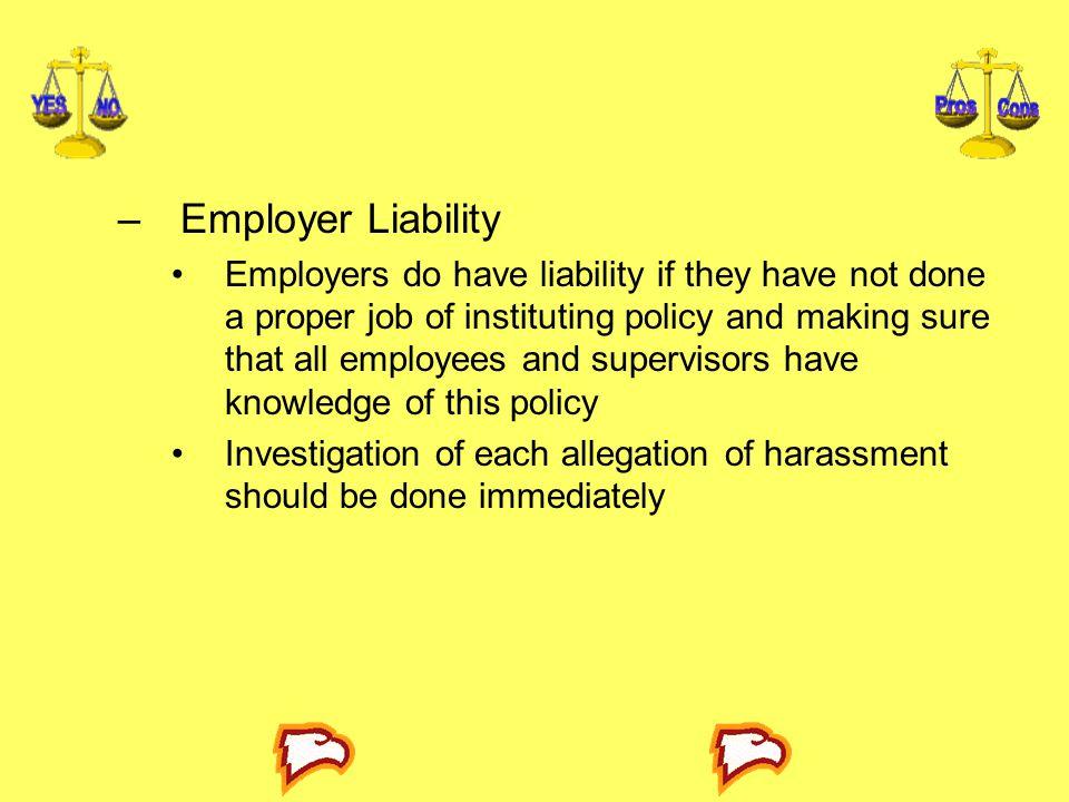 Employer Liability