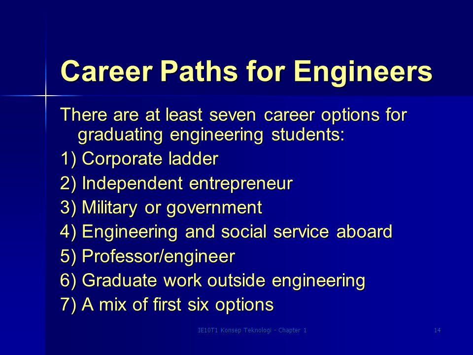Career Paths for Engineers