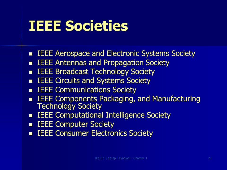 IE10T1 Konsep Teknologi - Chapter 1
