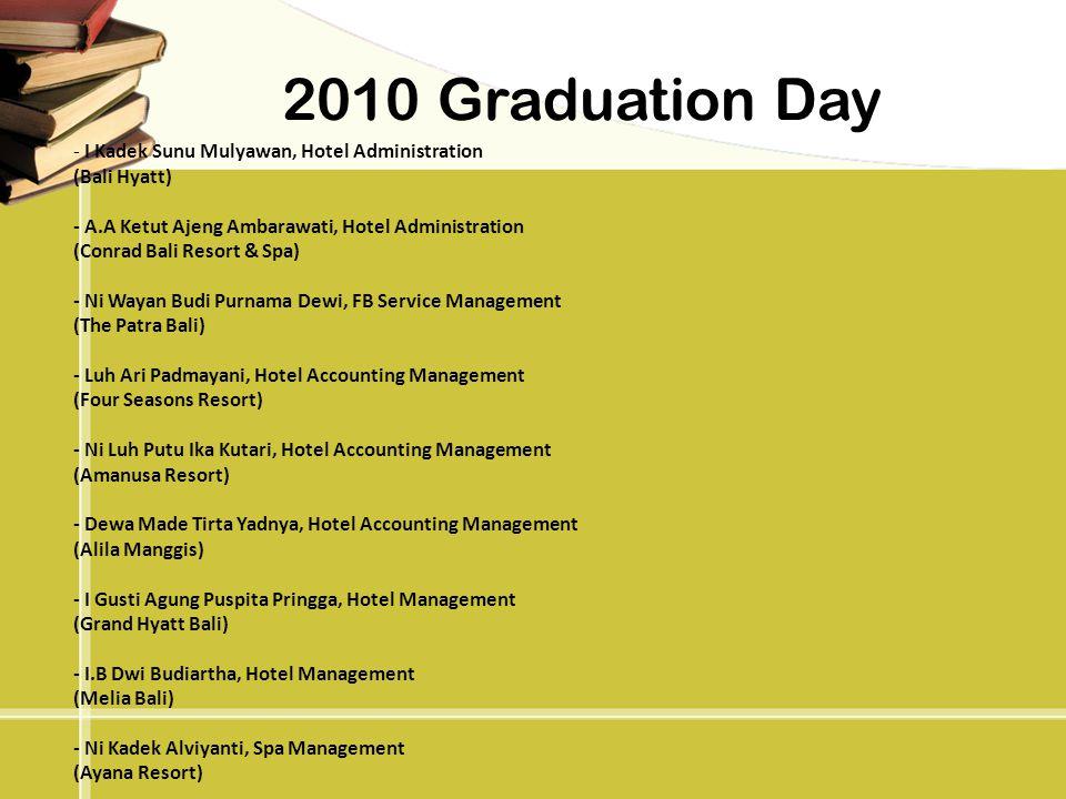 2010 Graduation Day