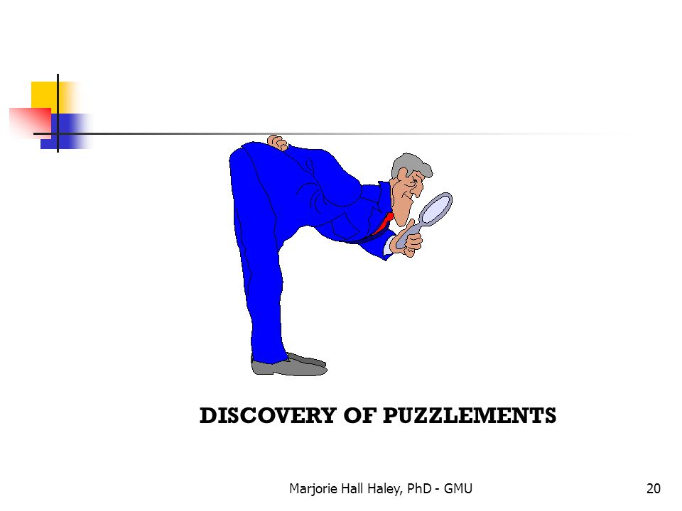DISCOVERY OF PUZZLEMENTS