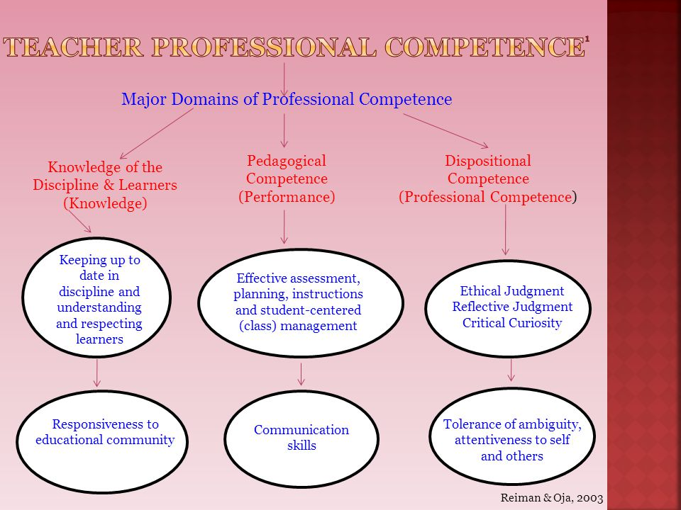 Teacher professional competence1