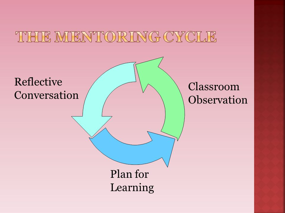 The Mentoring Cycle Reflective Classroom Conversation Observation