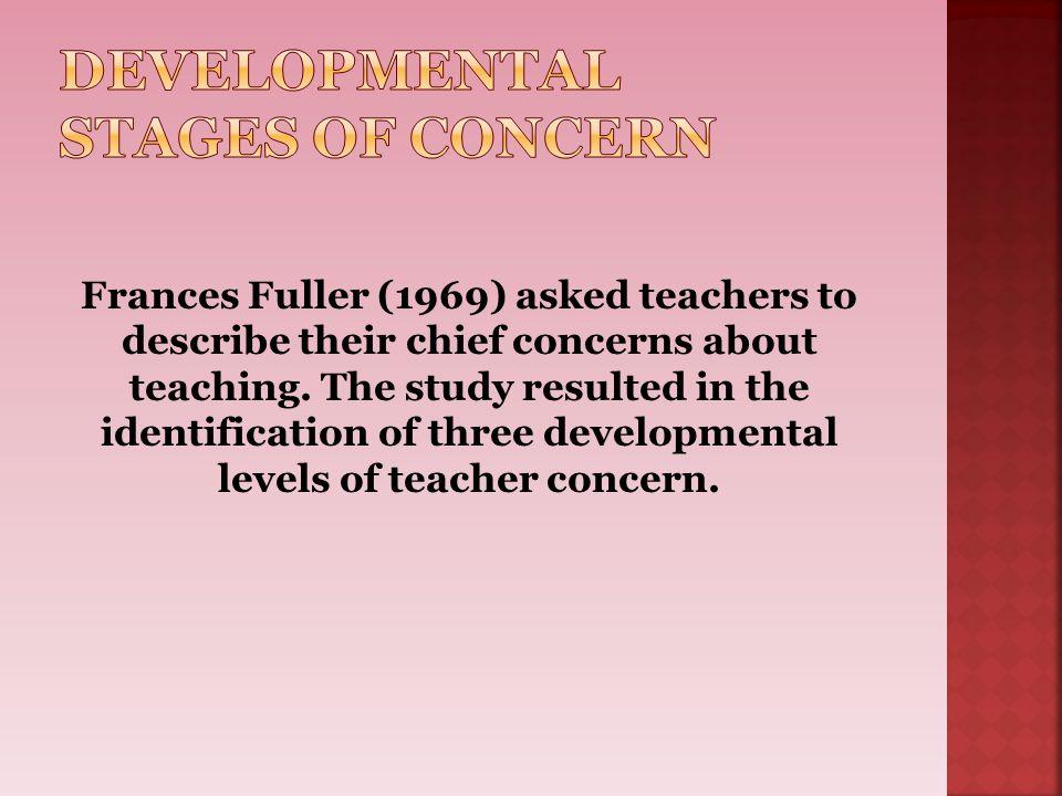 Developmental Stages of Concern