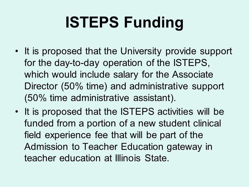 ISTEPS Funding