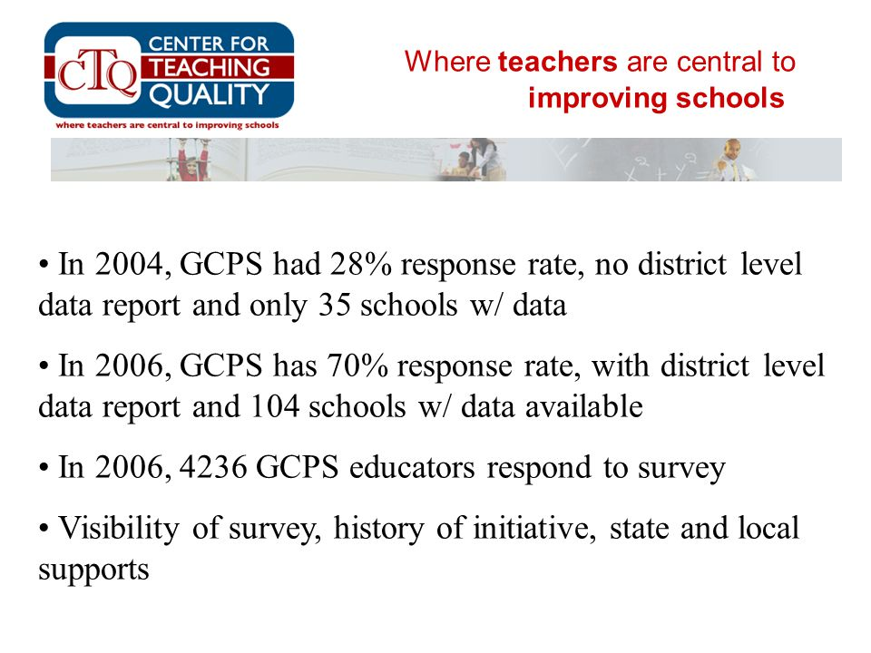 Where teachers are central to improving schools