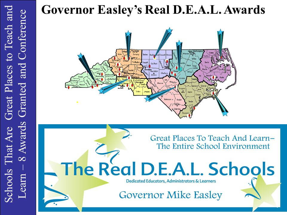 Governor Easley's Real D.E.A.L. Awards